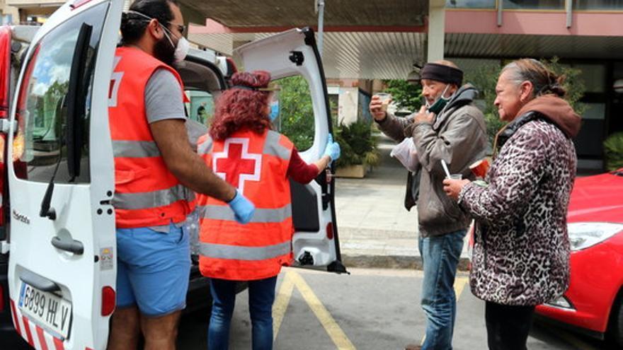 La meitat de les famílies gironines ateses per Creu Roja no té un ingrés estable