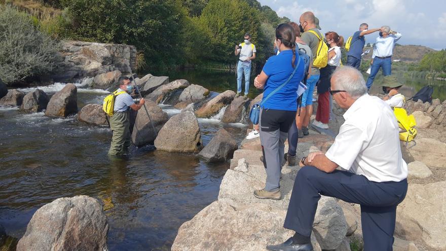 El río Negro, en Sanabria, protagoniza el Día de la Reservas Naturales Fluviales