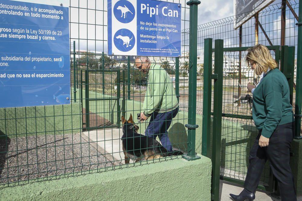 Nuevo parque canino en Las Torres
