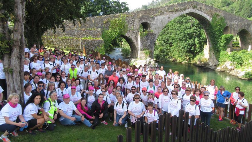 Convocada la IV Marcha solidaria contra el cáncer, el próximo 23 de mayo, entre Cangas de Onís y Covadonga