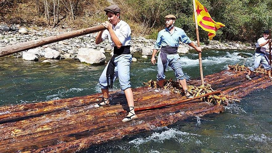 Els raiers de Coll de Nargó esperen que la Unesco els apropi al relleu generacional
