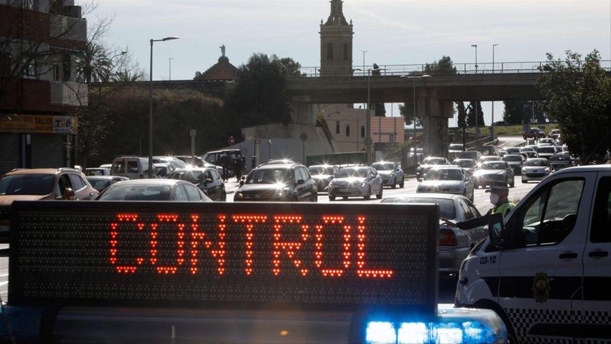 Valencia, cerrada y bloqueada por el confinamiento este fin de semana