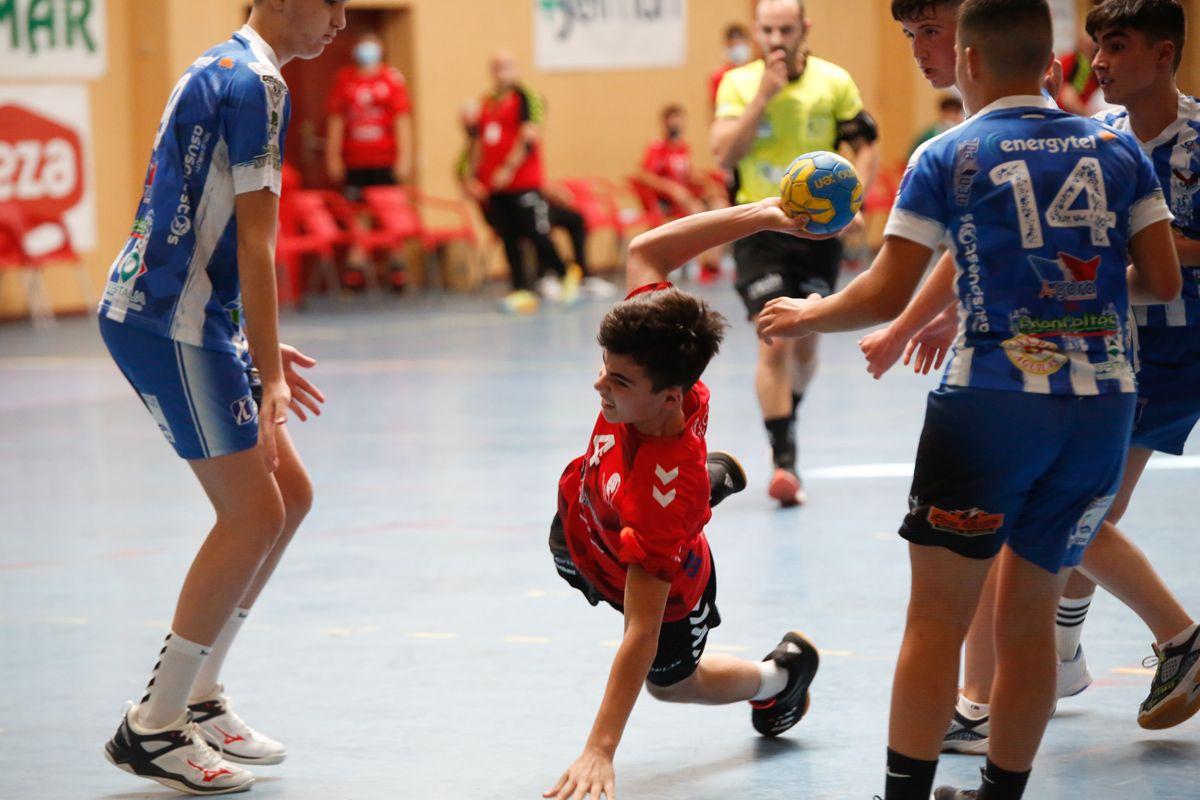 El Cajasur vende al Águilas en la fase internacional infantil de balonmano