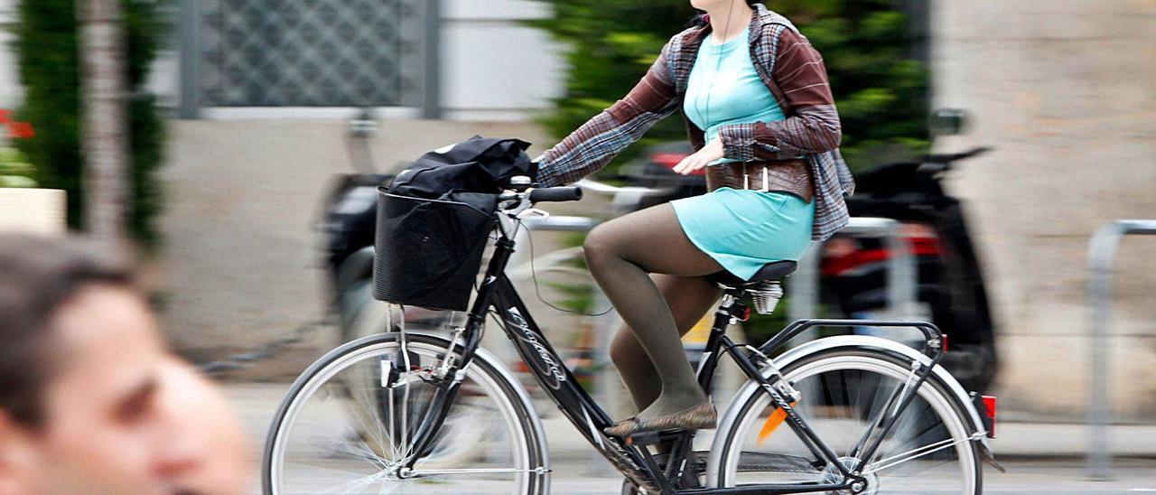 València ha apostado por fomentar el uso  de la bicicleta. f.bustamante