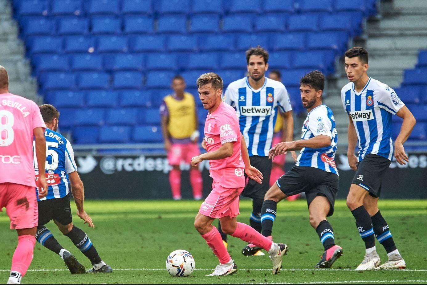 El Mallorca frena al Espanyol de Moreno