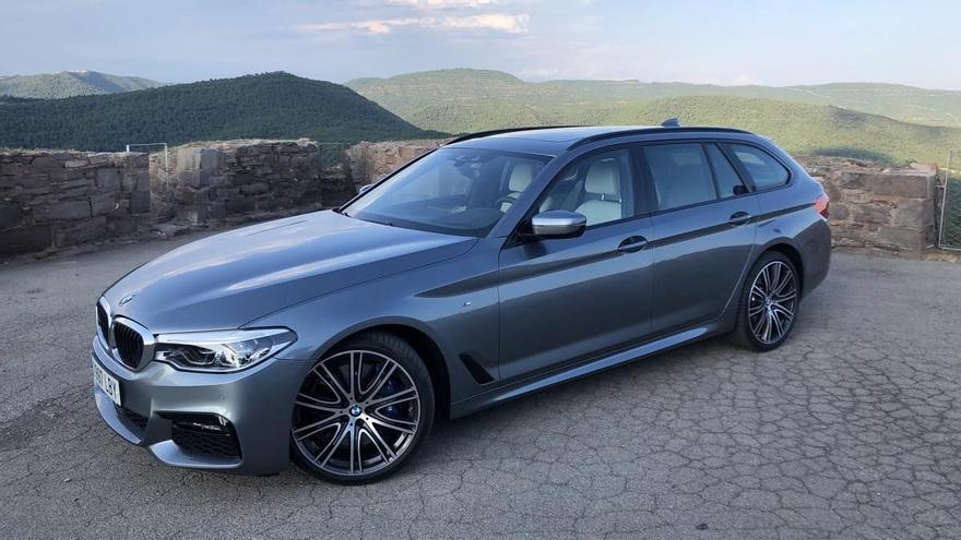 Probamos el BMW 540i, el equilibrio entre clase y deportividad