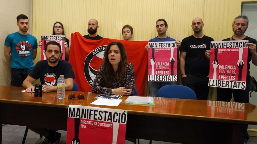 """Más de 200 entidades dirán """"no"""" al fascismo el sábado en València"""