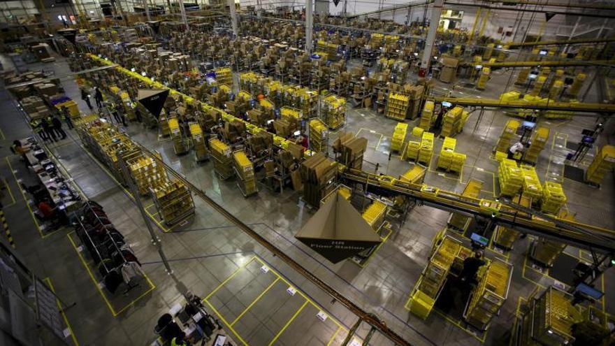 Amazon busca suelo en Gran Canaria para crear un gran centro logístico