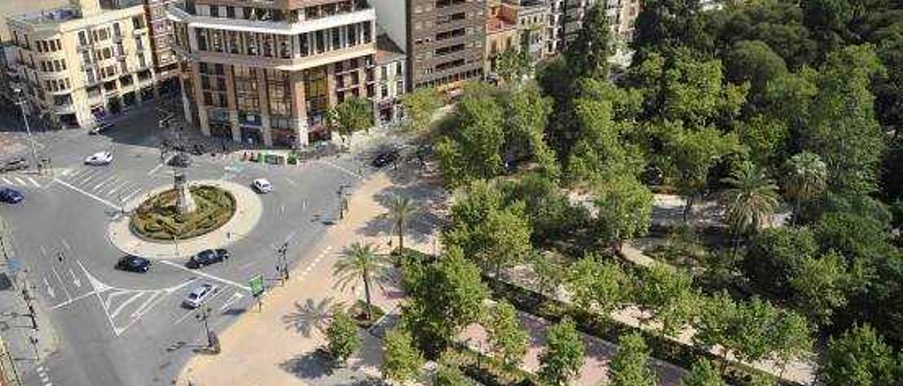 Un nuevo informe de Patrimo retrasará el plan especial de protección del parque Ribalta
