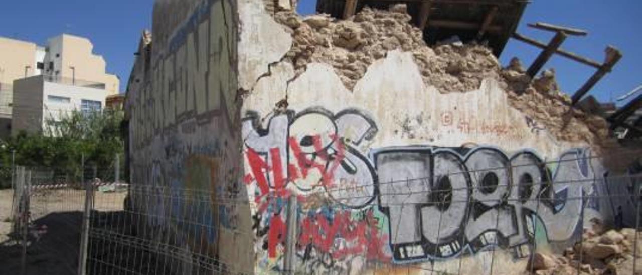 El Molí del Batà de Paterna está al borde del derrumbe