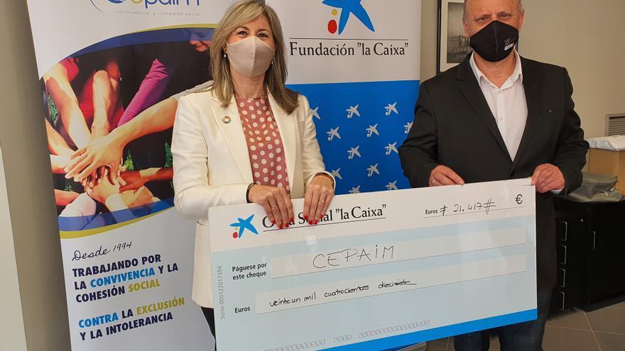 """Fundación Cepaim recibe al apoyo de la Fundación """"la Caixa"""" y CaixaBank para poner en marcha una vivienda de acogida para mujeres inmigrantes"""