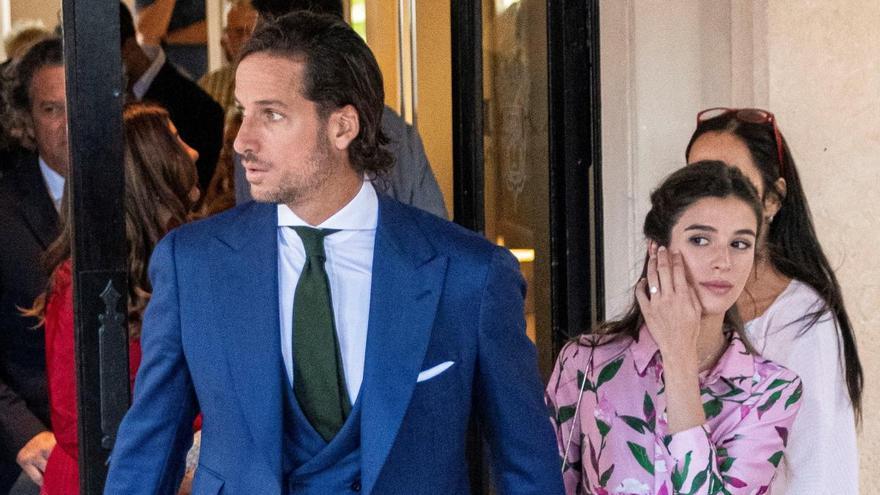 Feliciano López y Sandra Gago desvelan el nombre de su hijo