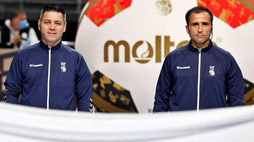 Ángel Sabroso y Óscar Raluy, a Tokio para arbitrar sus terceros Juegos Olímpicos