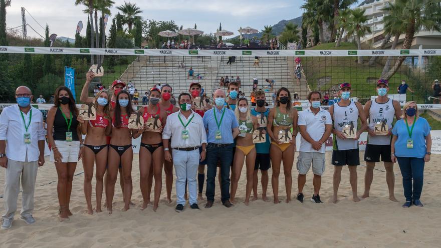 Las parejas Herrera-Gavira y Soria-Carro, campeonas de España de Vóley Playa