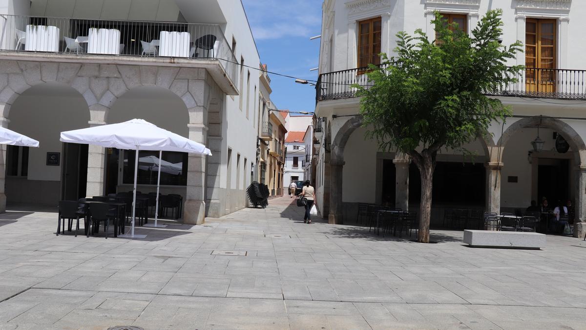 Calle Marqués Torres Cabrera en Villanueva de la Serena