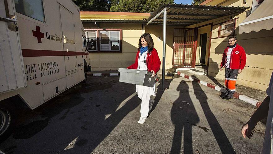 La mitad de drogodependientes que atiende Cruz Roja come dos o menos veces al día