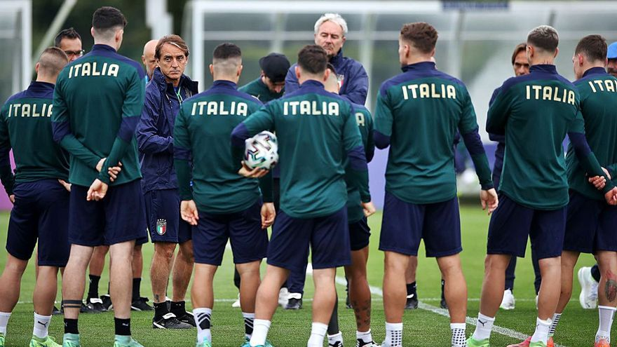 El método Southgate contra la obra de Mancini