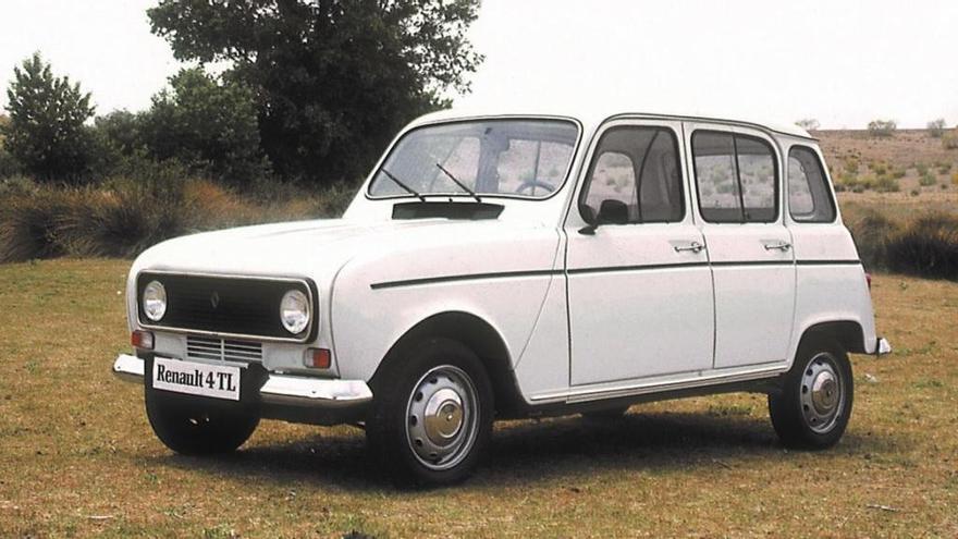 L'icònic Renault 4L compleix 60 anys d'història