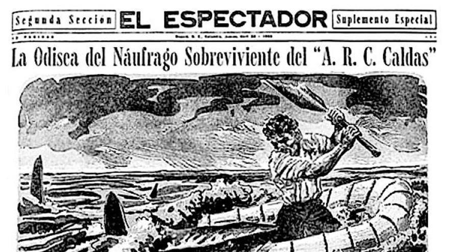 'Relato de un náufrago', 50 años de un hito del periodismo
