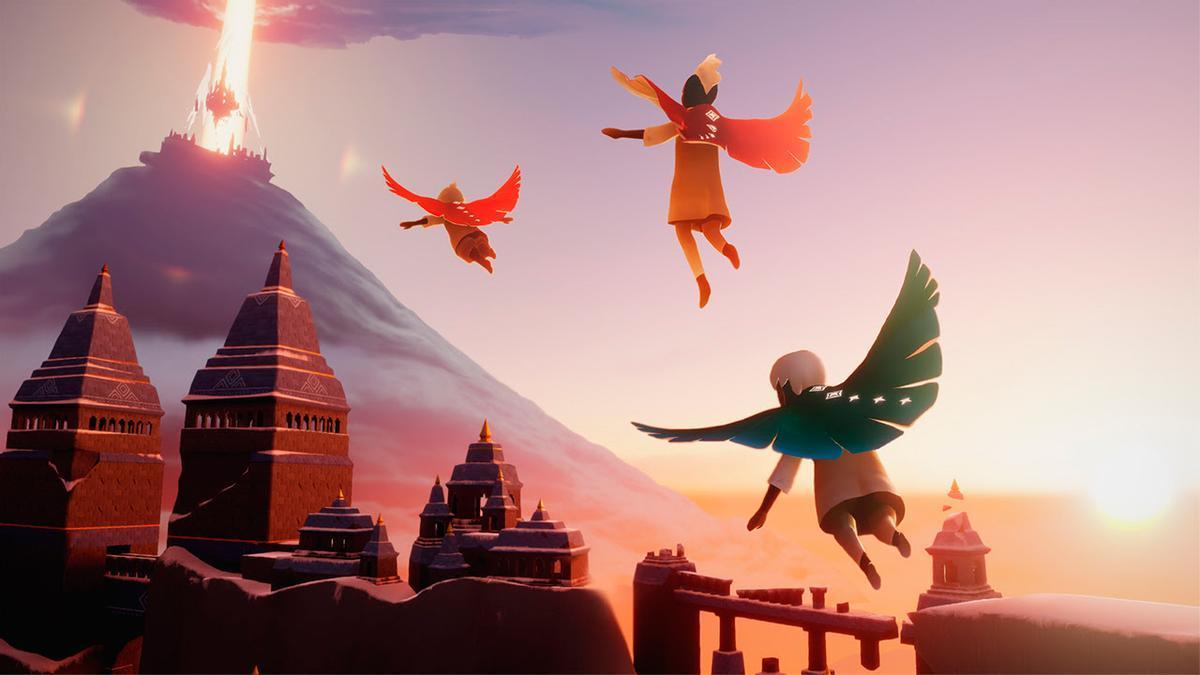 Thatgamecompany desarrollan un juego hermosamente animado con un montón de detalles.