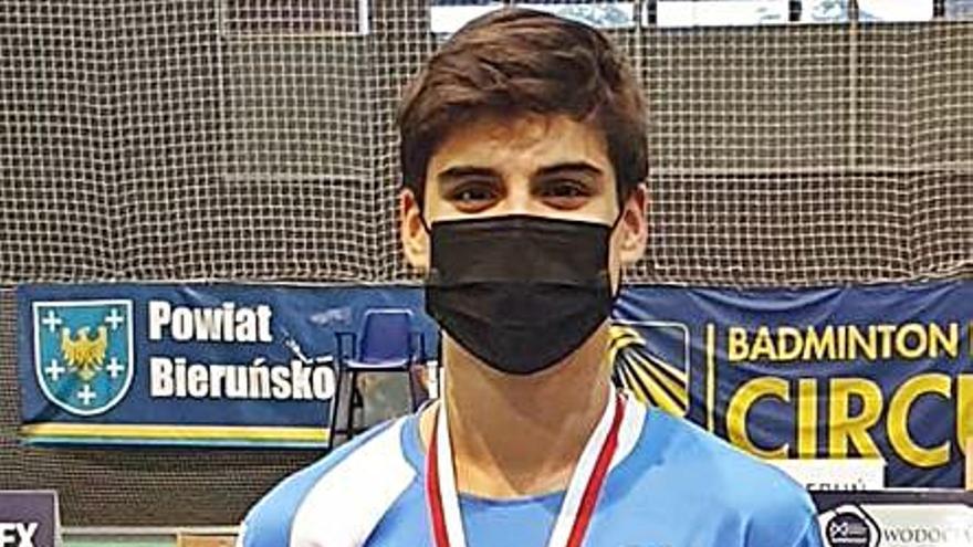 Rodrigo Sanjurjo logra la medalla de plata en el Internacional de Auschwitz