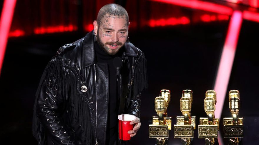 Post Malone, Billie Eilish y Bad Bunny triunfan en los Billboard