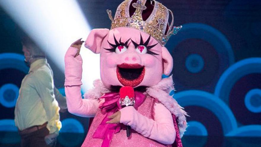 Terelu Campos pone 'Mask Singer' patas arriba: ella era la cerdita