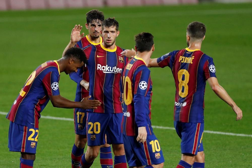 Las imágenes del Barcelona - Ferencvárosi