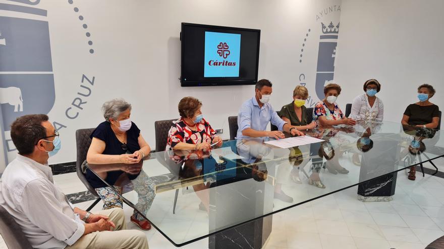 El Ayuntamiento de Caravaca colabora con Cáritas con una ayuda directa de 21.000 euros