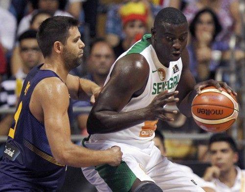 Preparación Eurobasket 2015: España - Senegal