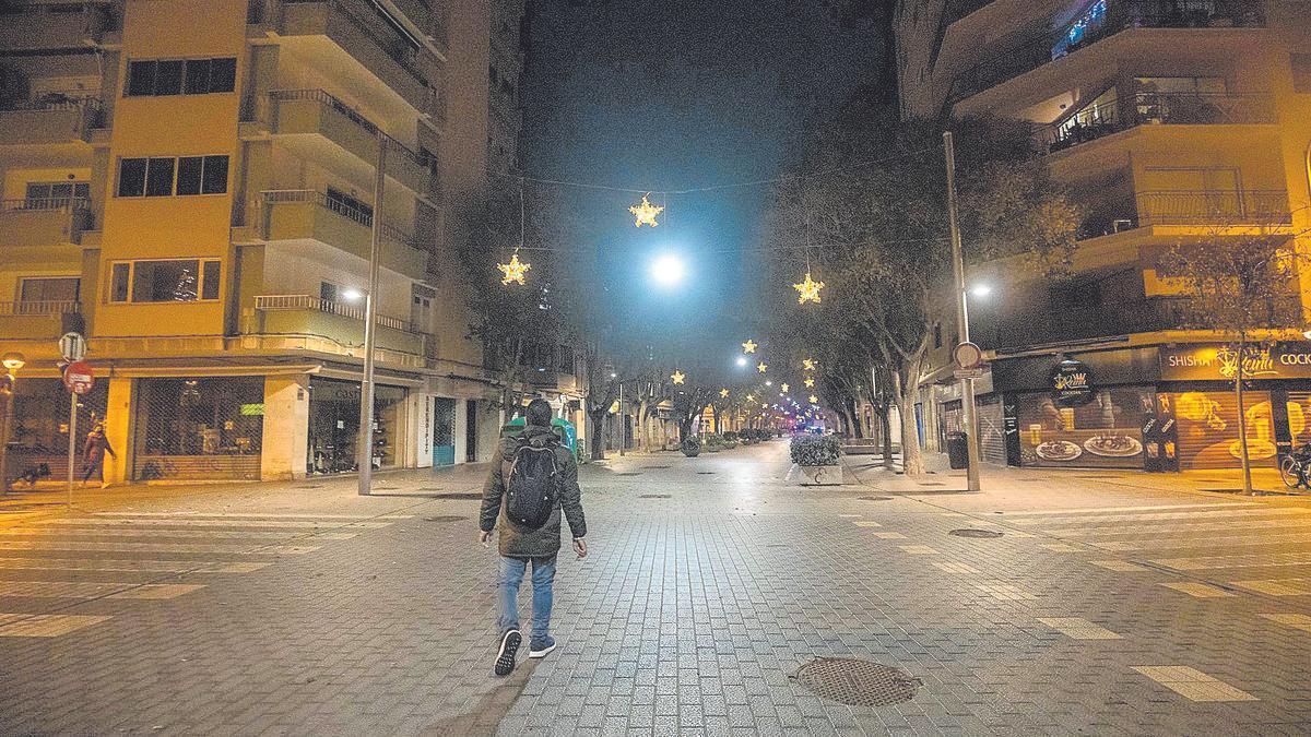 Toque de queda en Mallorca