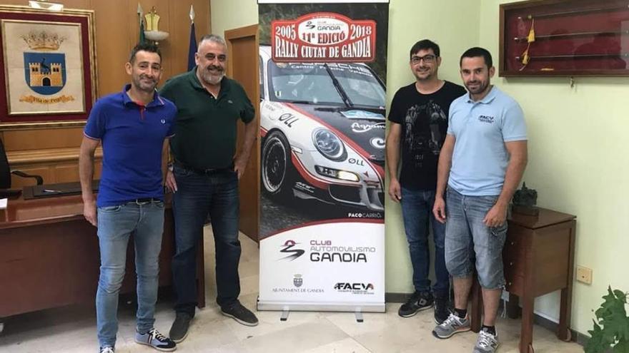Trofeo «Vila de Pego» en el Rali de Gandia