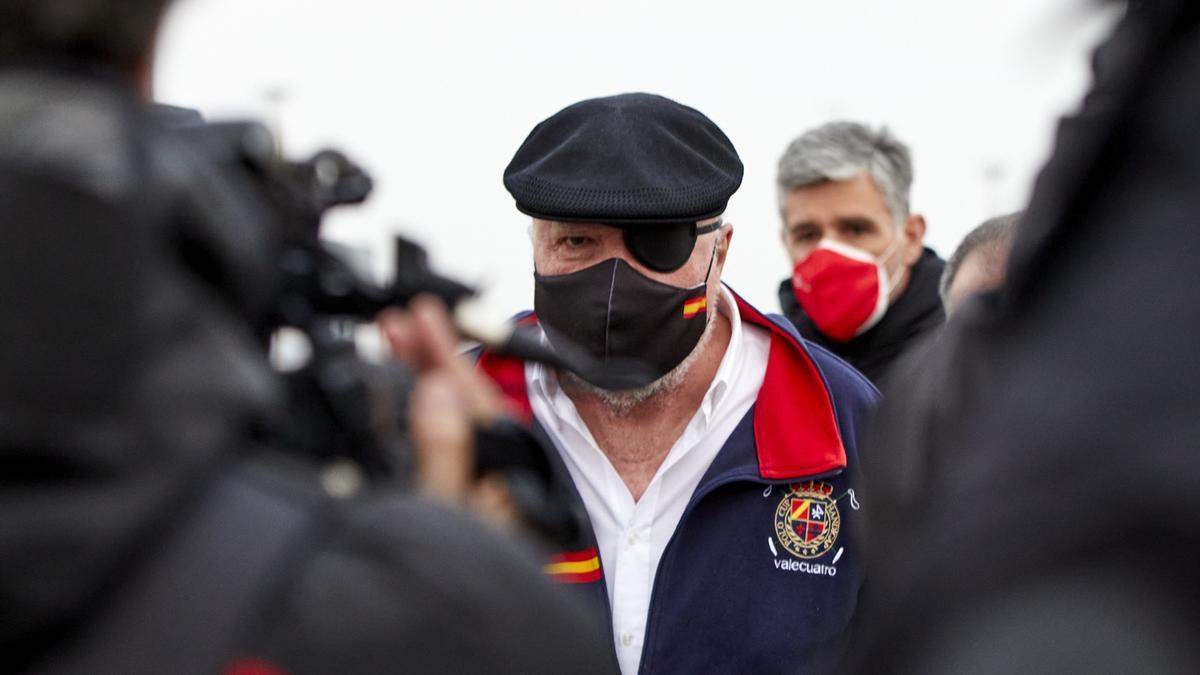 El excomisario Villarejo en una foto reciente.