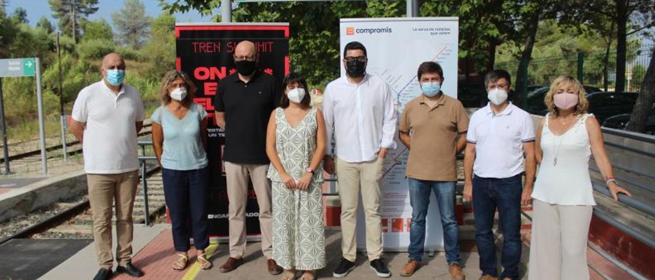 Participantes en la presentación de la campaña. | LEVANTE-EMV