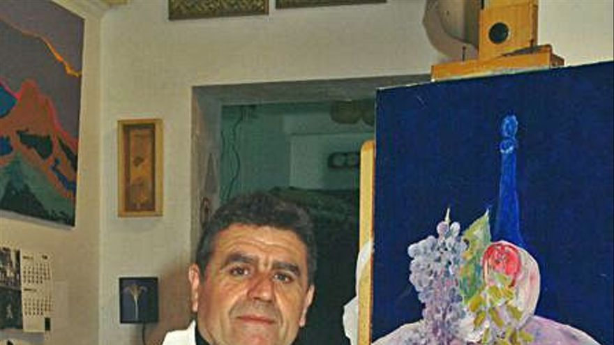 Misa en honor del pintor y publicista alicantino Joaquín López Baeza