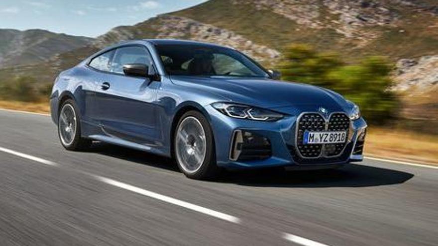 BMW lanzará en octubre el nuevo Serie 4 Coupé