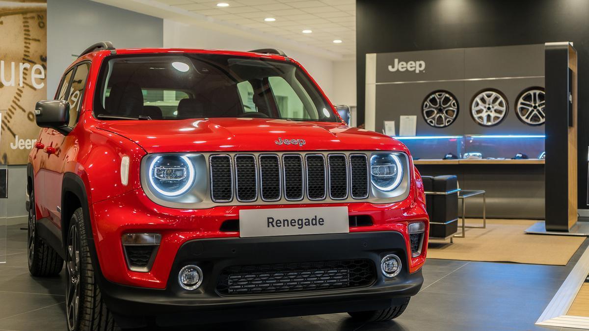 El Jeep Renegade puede conseguirse por 185€ en la opción de renting para particulares y empresas, en Automóviles Nemesio.