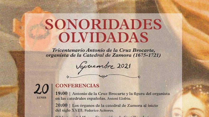 Sonoridades Olvidadas | Zamora homenajeará a Antonio de la Cruz Brocarte