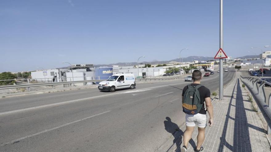 Un peatón muere atropellado por un taxi en Palma