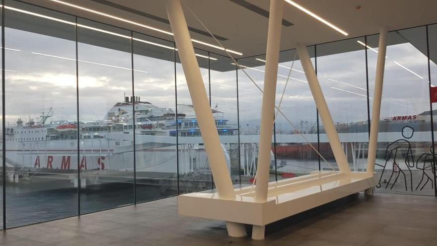 Nueva terminal del grupo Armas Trasmediterránea