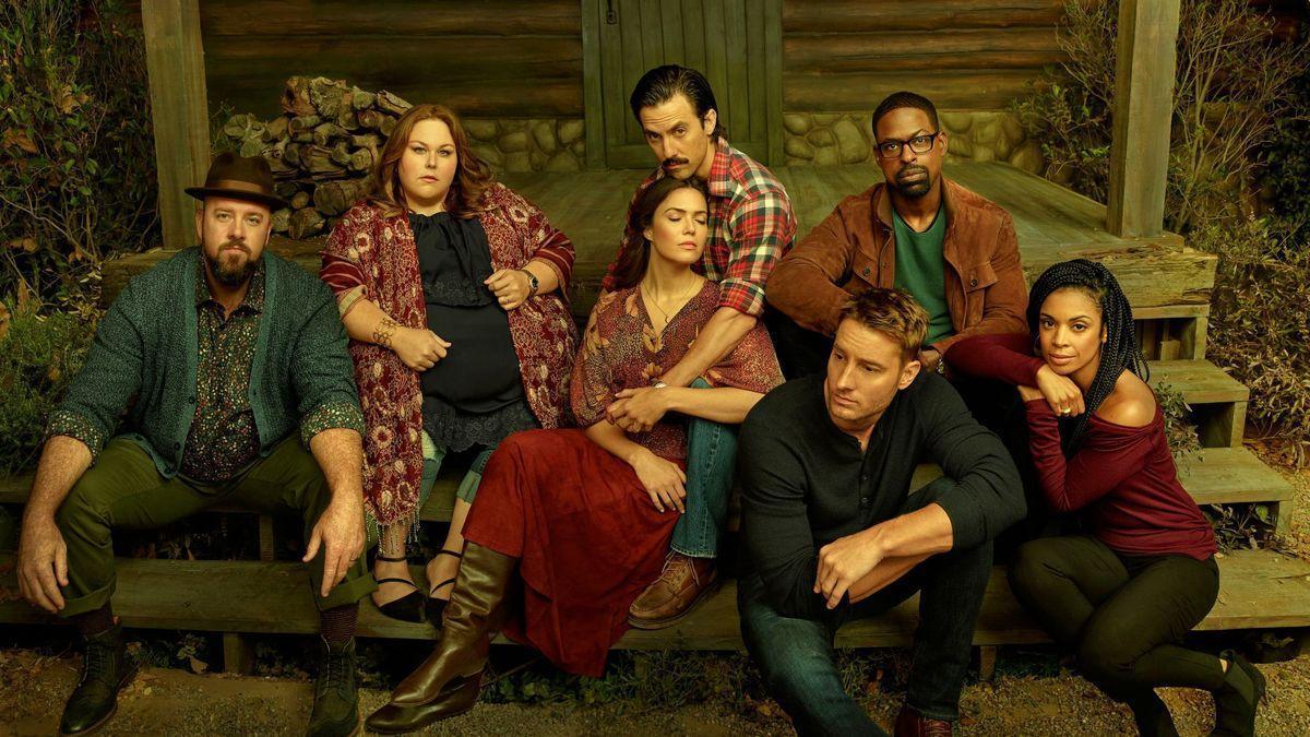 Imagen del reparto de la serie This is Us que a partir del próximo otoño emitirá su temporada final.