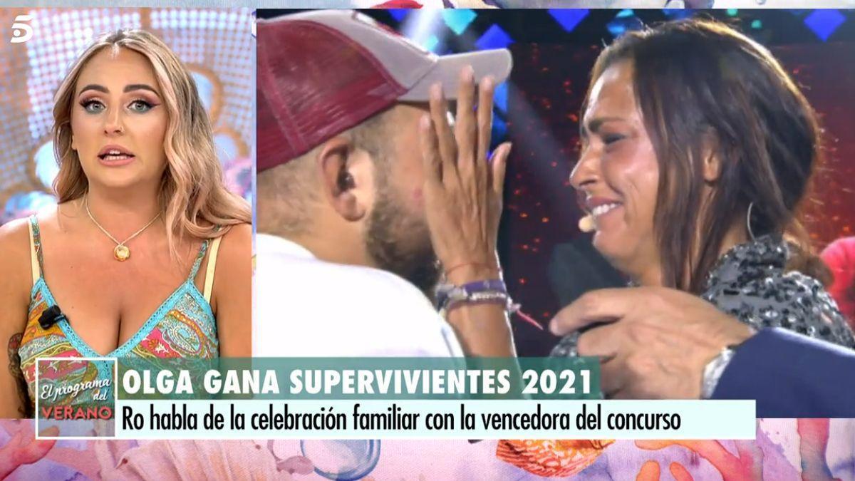 Rocio Flores habla sobre el final de 'Supervivientes'.