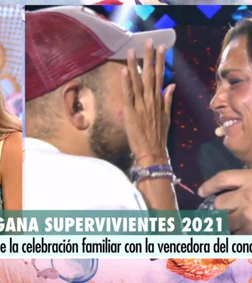 Rocío Flores se pronuncia sobre el polémico abrazo entre su hermano y Olga en la final de 'Supervivientes'