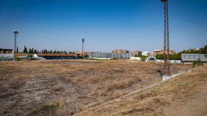 El estadio de fútbol José Pache cumple ocho años de abandono