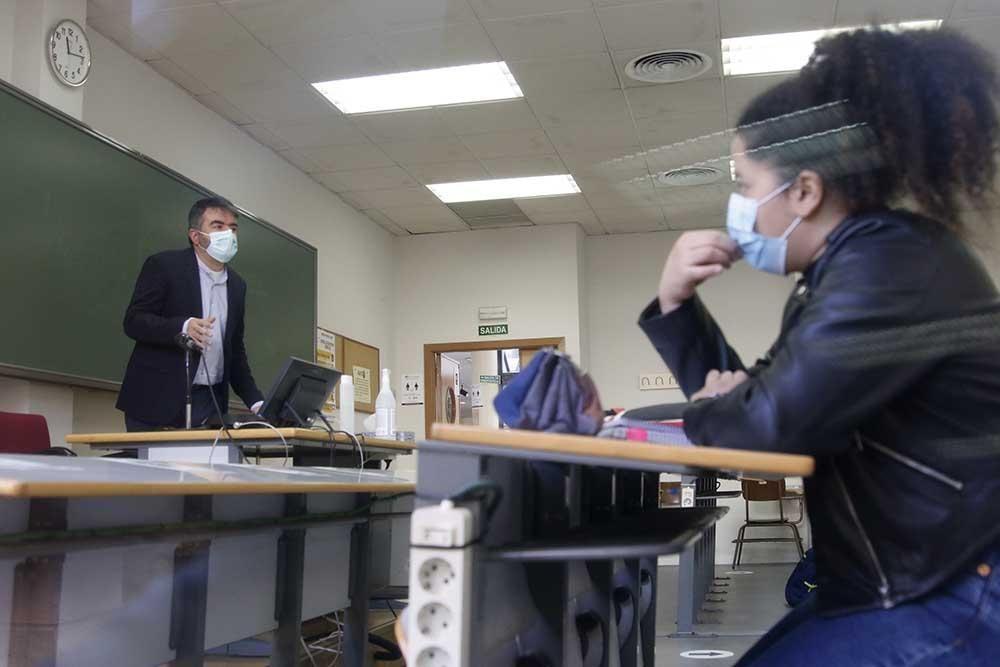 Vuelta a las clases presenciales en la UCO