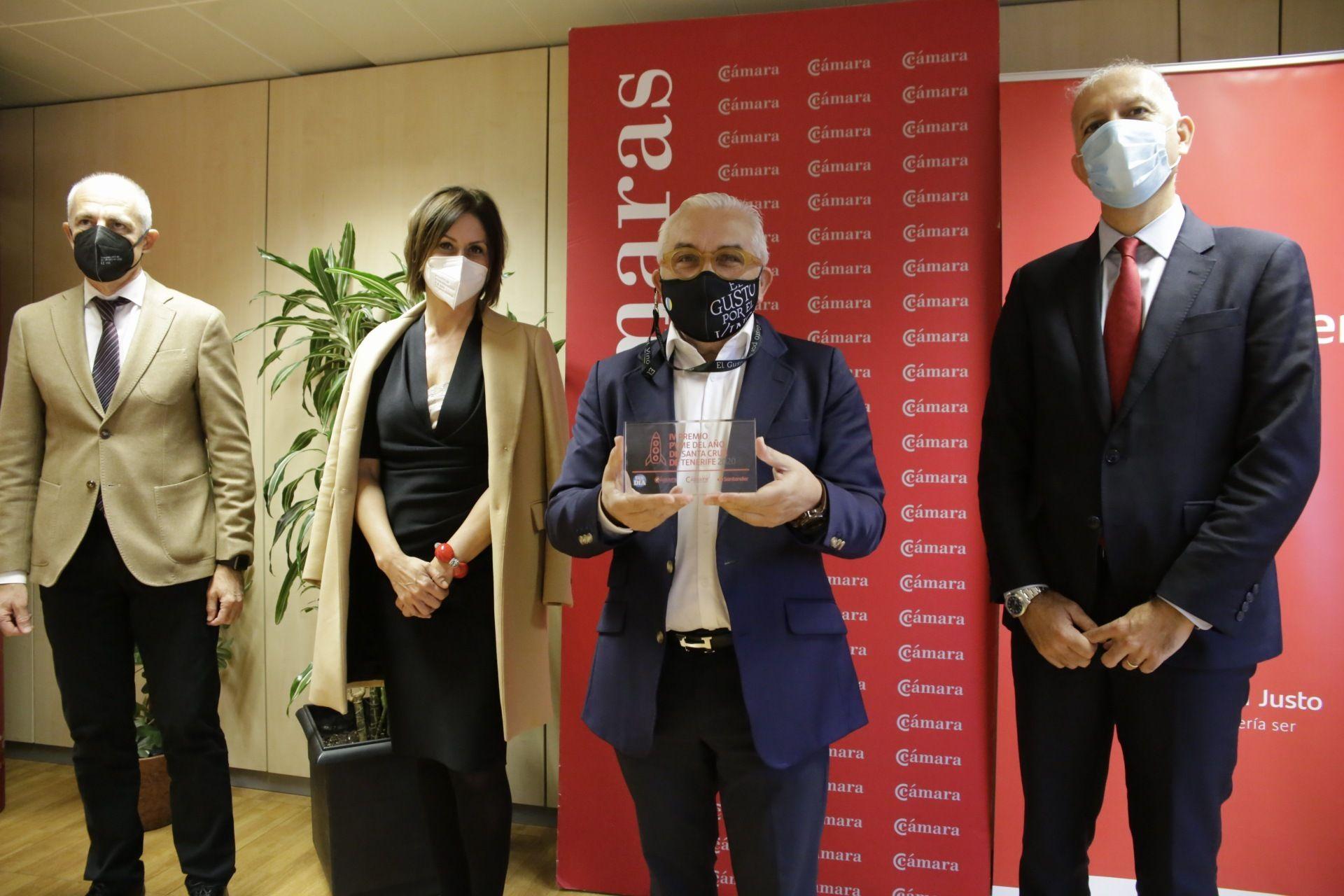 Entrega de los Premios de la Cámara de Comercio y Banco de Santander
