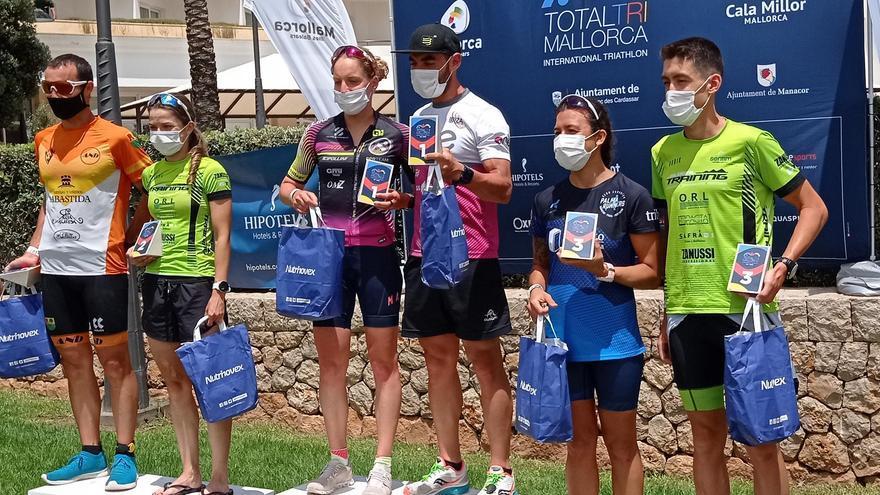 Guillem Tomeu Vadell y Sabrina Stadelmann ganan el Total Tri Mallorca