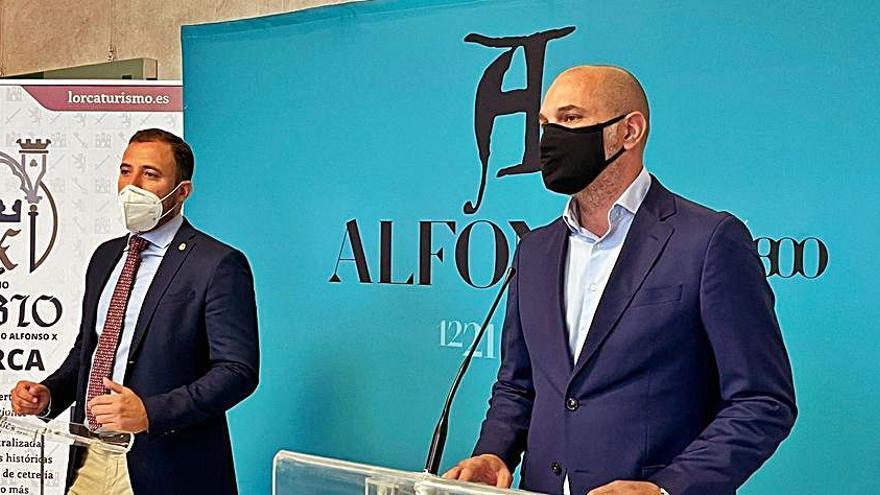 Lorca y Murcia se unen para los actos del VIII centenario de Alfonso X