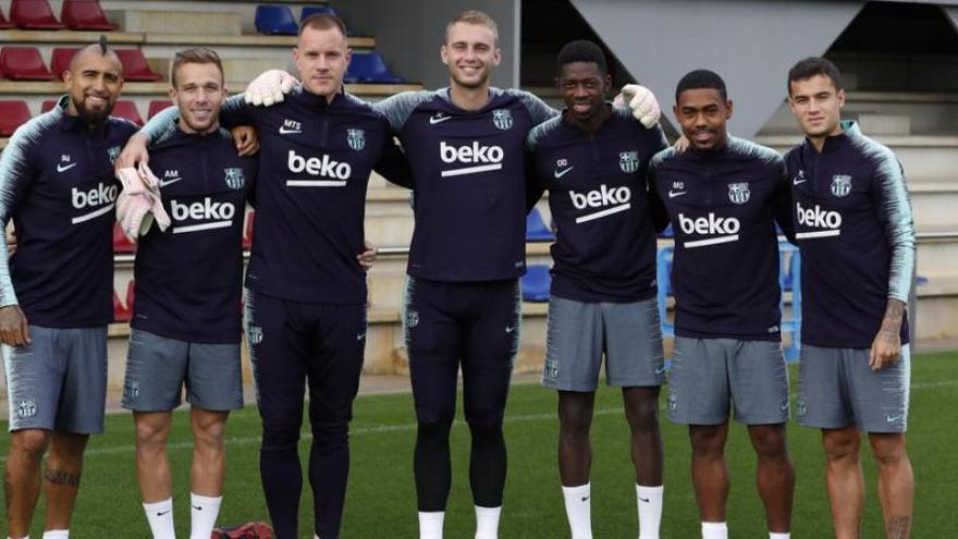 El Barça ja s'entrena amb tots els seus internacionals