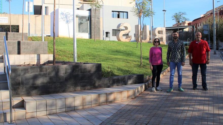 L'Alcora añade una zona verde accesible a Corts Valencianes